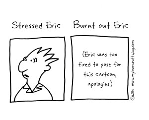 Stress-vs-Burnout